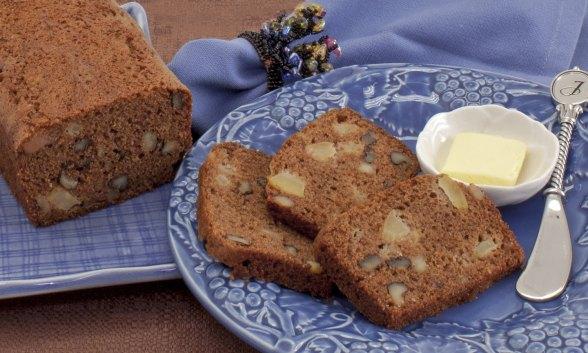 Apple-Walnut Whiskey Bread