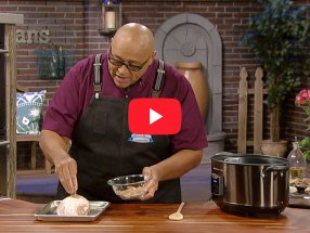 Creole Smoked Turkey Breast with Chef Kevin Belton