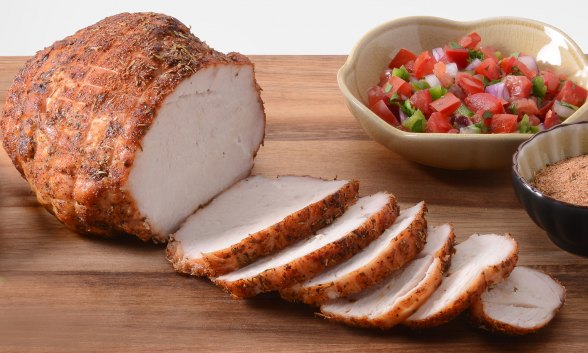 Creole Smoked Turkey Breast