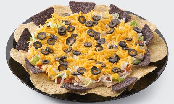 Fresh and Lite Taco Dip