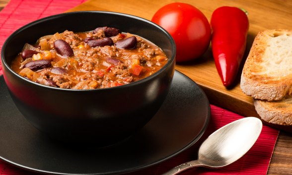 Firefighter's Chili