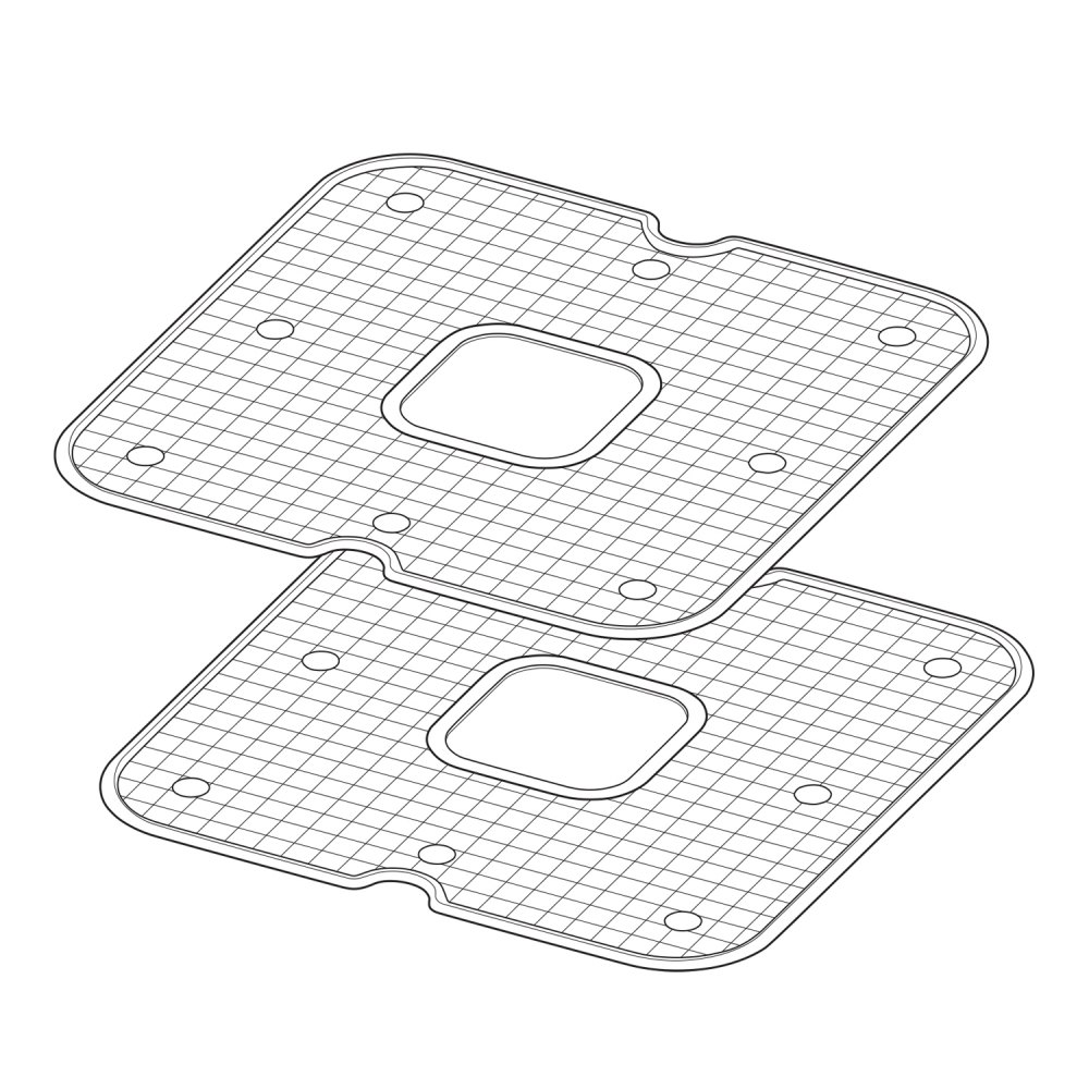 Nonstick Mesh Screens