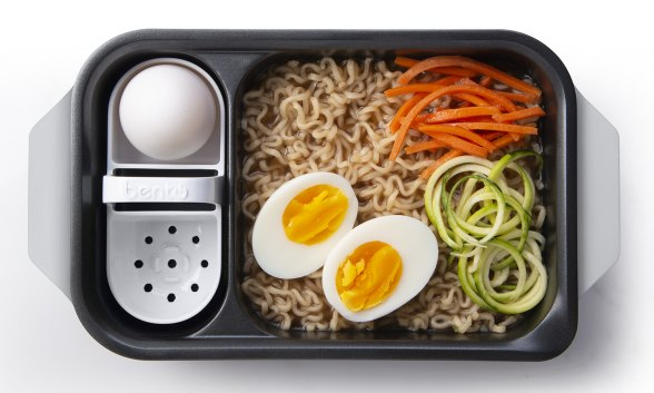 Ramen Noodles with Eggs