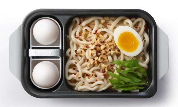 Udon Noodles with Eggs