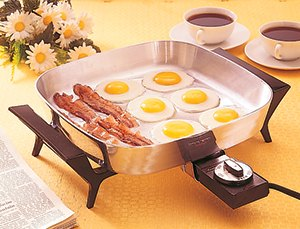 Control Master Electric Skillet