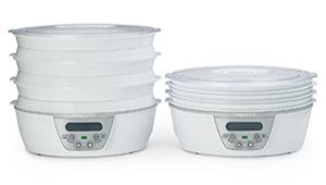 Food Dehydrator with Nesting Trays